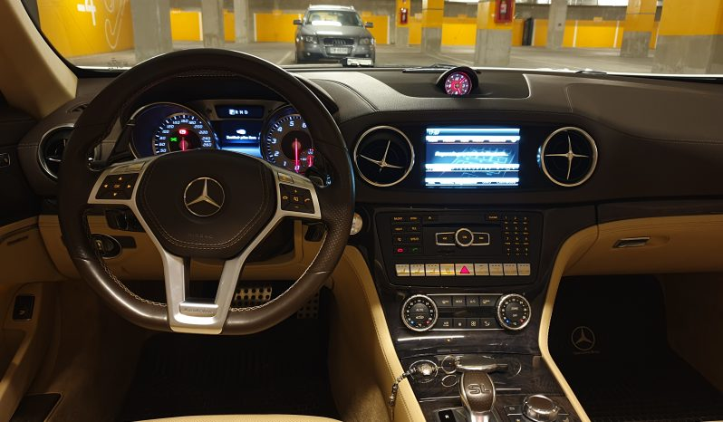 MERCEDES BENZ SL500 2014 full